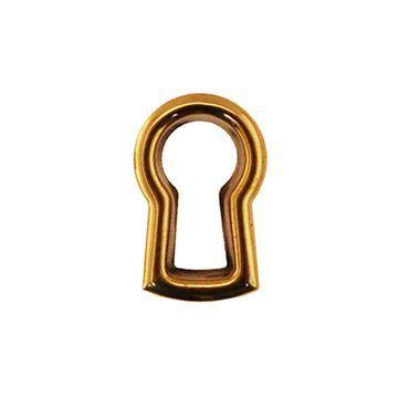 Restorers Classic Stamped Brass Keyhole Insert