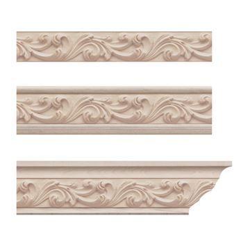 Designs Of Distinction Acanthus Crown Molding Insert