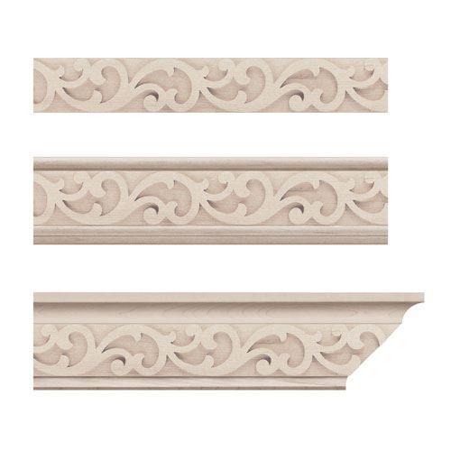 Designs Of Distinction Baroque Crown Molding Insert
