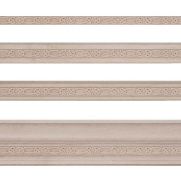 Light Rail Kitchen Cabinet Molding Trim Ewlr12 Red Oak: Designs Of Distinction Gaelic Light Rail Molding Insert