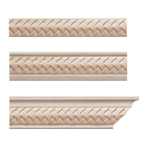 Designs Of Distinction Weaved Crown Molding Insert