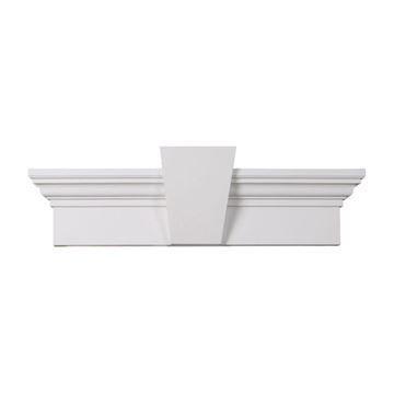 Restorers Architectural 6 Inch Flat Urethane Door Or Window Crosshead