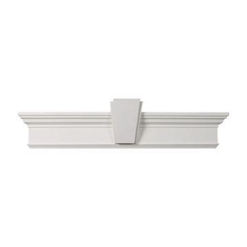 Restorers Architectural 7 Inch Deco Urethane Door Or Window Crosshead