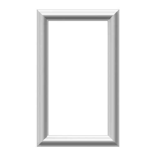Restorers Architectural Ashford Classic 12 Inch Urethane Picture Frame Wall Panel