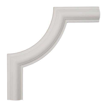 Restorers Architectural Ashford Smooth Corner Urethane Panel Molding