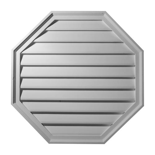 Restorers Architectural Octagon Urethane Functional Gable Vent