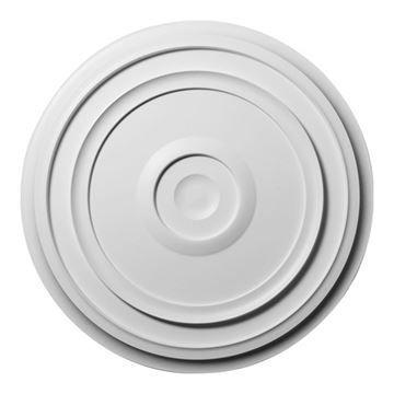 Restorers Architectural Reece 24 Inch Urethane Ceiling Medallion