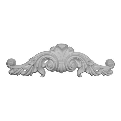 Restorers Architectural Scroll Large Urethane Onlay Applique