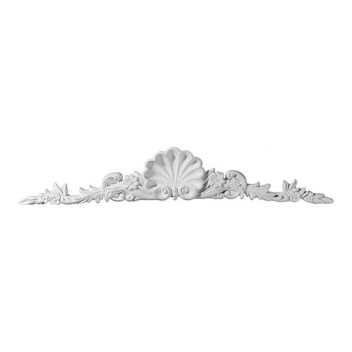 Restorers Architectural Shell Large Urethane Onlay Applique