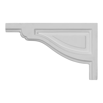 Restorers Architectural Traditional Urethane Stair Bracket