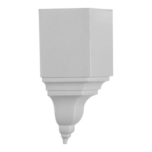 Restorers Architectural Universal Finial Urethane Inside Molding Corner