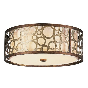 Livex Lighting Avalon Round Flush Ceiling Light