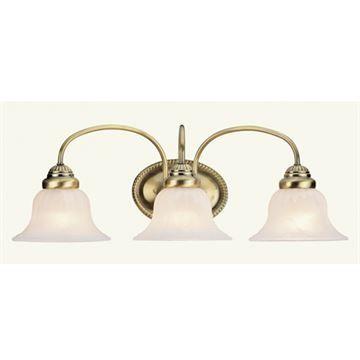 Livex Lighting Edgemont 3 Light Vanity Light