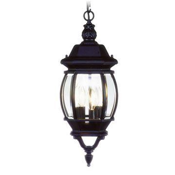 Livex Lighting Frontenac 19 3/4 Inch Outdoor Chain Hang Light