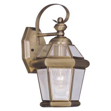 Livex Lighting Georgetown Outdoor 11 Inch Wall Lantern