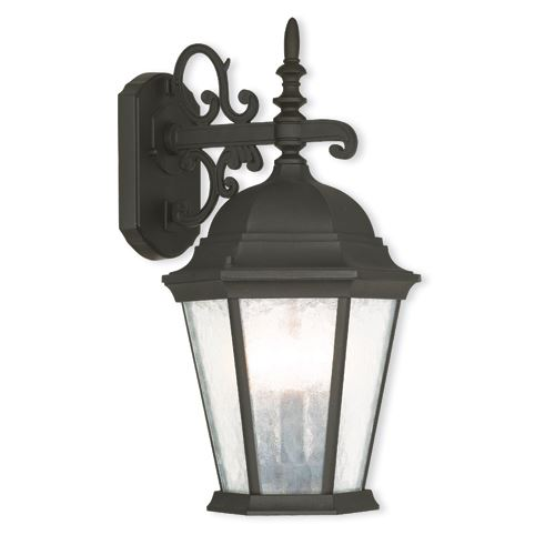 Livex Lighting Hamilton 18 1/2 Inch Large Outdoor Wall Lantern
