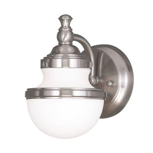 Livex Lighting Oldwick 1 Light Vanity Light