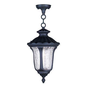 Livex Lighting Oxford Outdoor 17 1/2 Inch Chain Hang Light