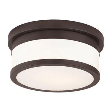 Livex Lighting Stafford 10 Inch Flush Ceiling Light
