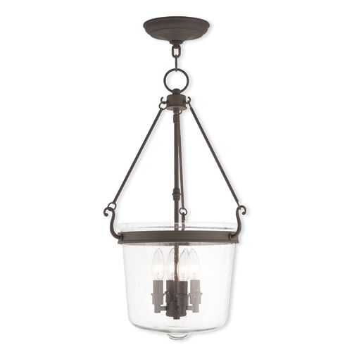 Livex lighting winchester 14 14 inch seeded glass pendant light livex lighting winchester 14 14 inch seeded glass pendant light aloadofball Image collections