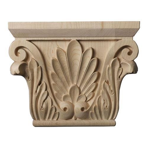 Restorers Architectural 7 5/8 Inch Chesterfield Capital