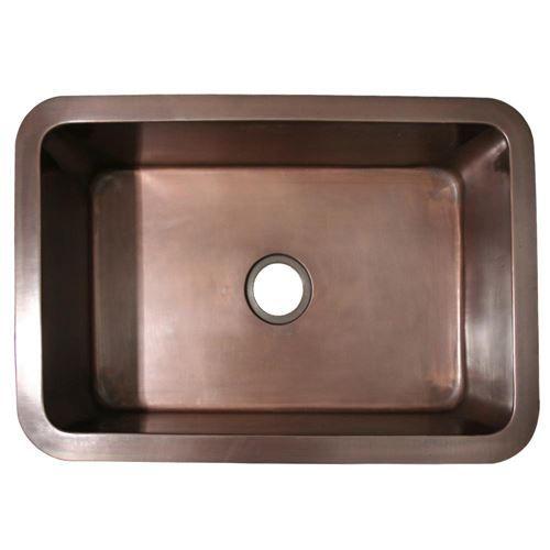 30 inch undermount kitchen sink table top kitchen whitehaus copperhaus 30 inch smooth undermount kitchen sink van
