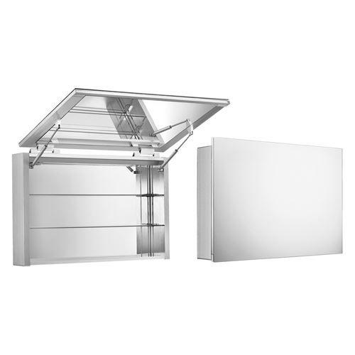 Whitehaus Medicinehaus Single Upward Lift Door Medicine Cabinet ...