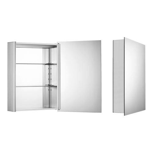Whitehaus Medicinehaus Small Aluminum Medicine Cabinet   Van ...