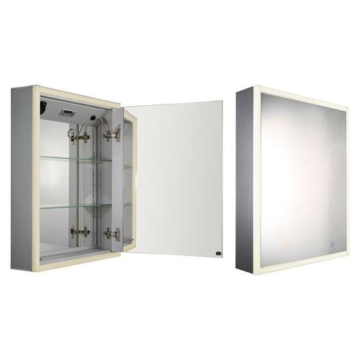 Whitehaus Musichaus Single Door Medicine Cabinet With Music   Van ...