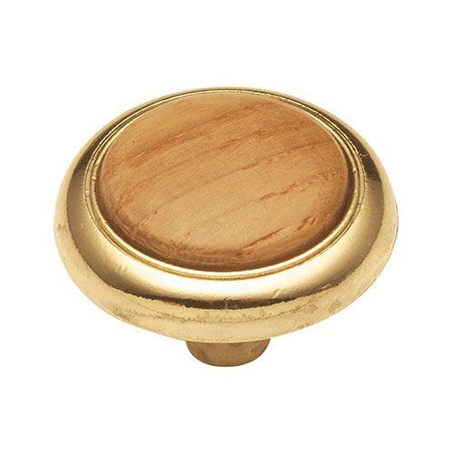 Hickory Hardware Woodgrain Cabinet Knob