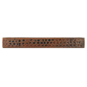 Premier Copper Rectangular Hammered Copper Tile