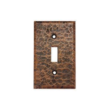 Premier Copper Single Toggle Switchplate