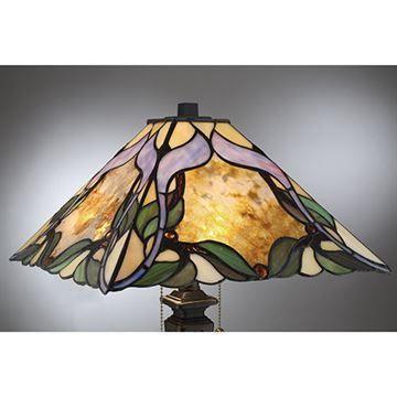 Quoizel Tf2591tib Persian Violet Tiffany Table Lamp Imperial
