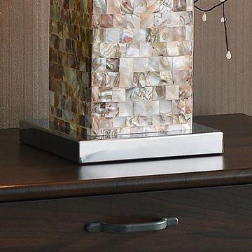 Kenroy Home 32025mop Pearl Table Lamp Mother Of Pearl Van Dyke S