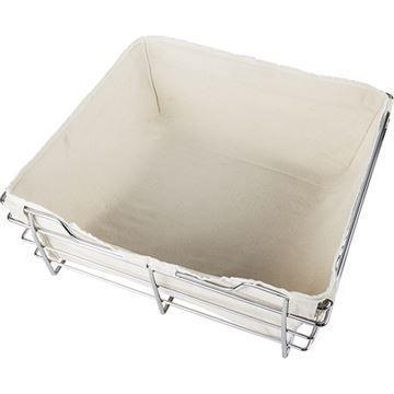 Restorers Canvas Liner For 18 Closet Basket - 14 Depth