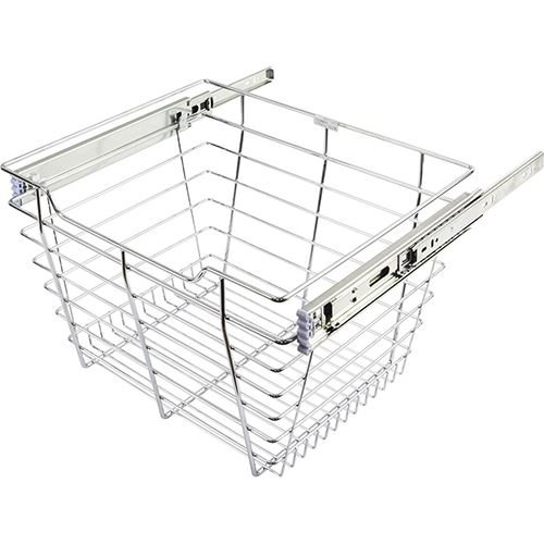 Restorers Pullout Basket For 24 Inch Closet - 14 Inch Depth