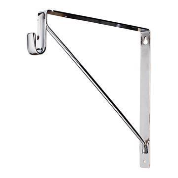 Restorers Shelf & Rod Support Bracket For Oval Closet Rod
