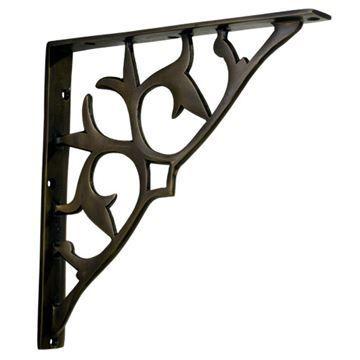 Restorers Decorative Metal Shelf Bracket
