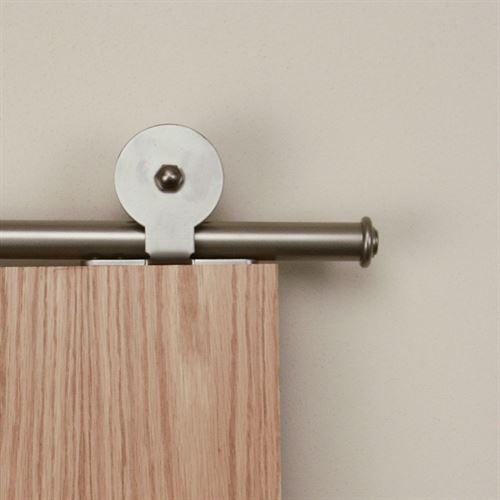 Designer Collection Top Mount Rolling Hardware Kit For Wood Doors