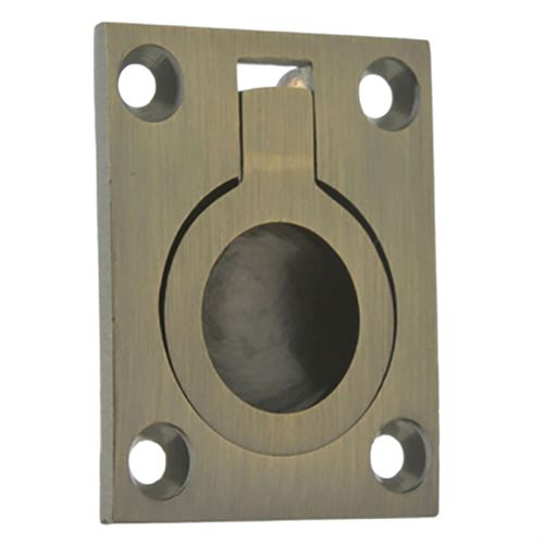 Idh By St. Simons Flush Ring Recessed Pull