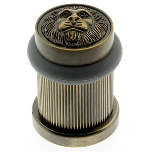 Idh By St. Simons Lion Head Bullet Door Stop
