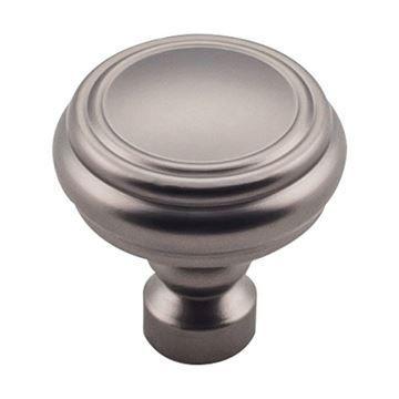 Top Knobs Devon Brixton Rimmed 1 1/4 Inch Cabinet Knob