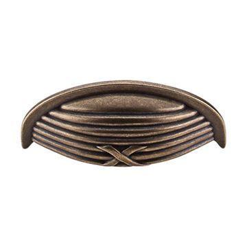 Top Knobs Edwardian Ribbon & Reed Cup Bin Pull