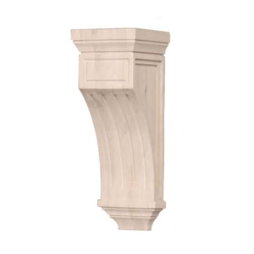 Legacy Artisan 10 1/2 Inch Mission Fluted Corbel