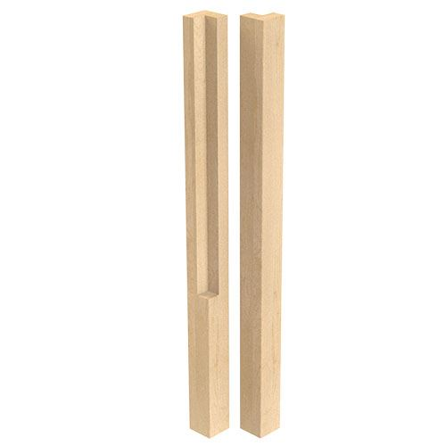 Designs of Distinction 2 Inch Square Notched Table Leg