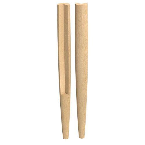 Designs of Distinction Danish Modern Notched 29 Inch Leg