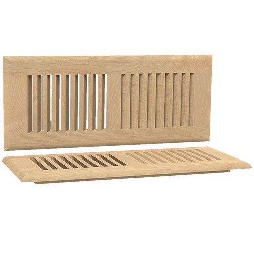 Designs of Distinction Self Rimming 4 Inch x 12 Inch Floor Air Vent