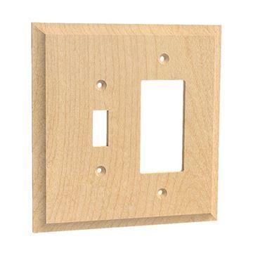Designs of Distinction Single Toggle & Rocker Switchplate