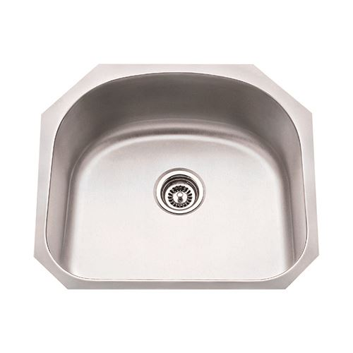 Hardware Resources 18 Gauge 23 Inch Stainless Single Utility Sink