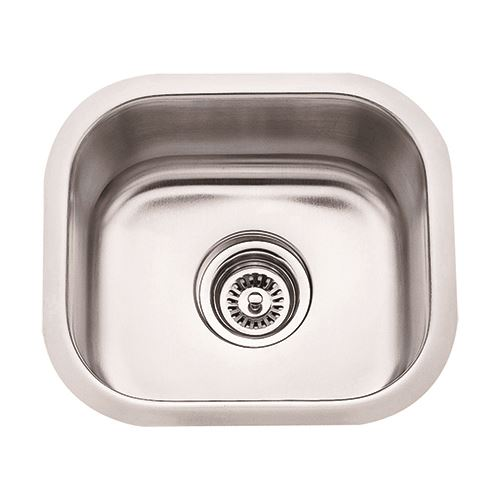 Hardware Resources 18 Gauge Small 13 Inch Stainless Utility Sink